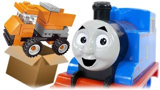 Enlighten Engineering Series 1220 Mini Truck Construction Vehicles for Kids Review with Thomas