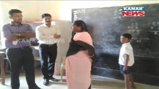 Sambalpur Collector Samarth Verma Teaches Students In Maoist Affected Area
