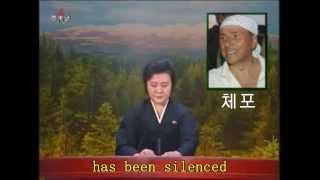 KCNA Announces Berlusconi Sentence [EN subtitles]