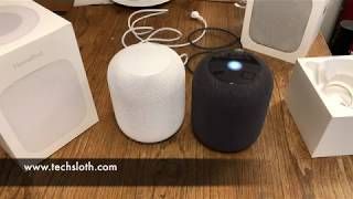 Apple HomePod unboxing and first impressions | ENGLISH 4K
