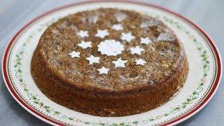 طرز تهیه کیک خرما و گردو بدون فر، کیک بدون فر، کیک بدون شکر | Ovenless Date Cake