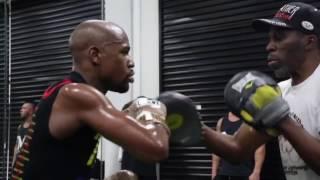 Floyd Mayweather Jr. Training ★ TBE ★    HD