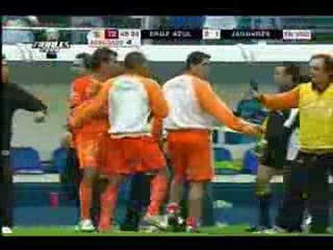 Cruz Azul vs Jaguares la pelea