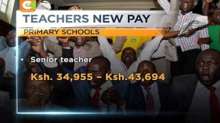 Joy for teachers as TSC, KNUT, KUPPET sign deal on pay, promotions