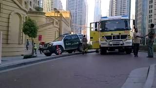 Dubai. police. ambulance, rescue and fire