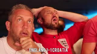 England V Croatia - Ex-Premier League Stars Honest Fan Reaction.