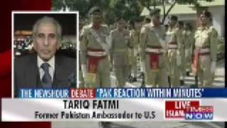 The Newshour Debate 'Pak reaction within minutes' Part 1