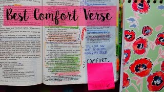 BEST COMFORT VERSE IN THE BIBLE | Christian Inspiration