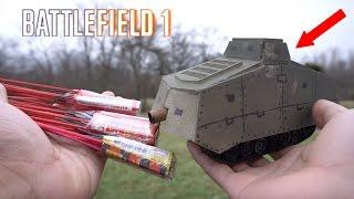 Cheap RCtank BattleField firework mods