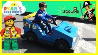LEGOLAND Family Fun Amusement Theme Park for kids Children Play Area Ryan ToysReview