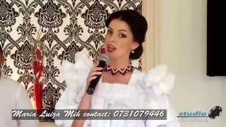 Maria Luiza Mih - Colaj melodii Banat si Ardeal 2015