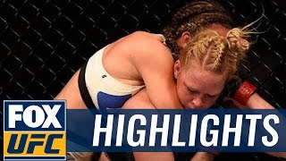 Holly Holm vs. Miesha Tate - UFC 196 Highlights