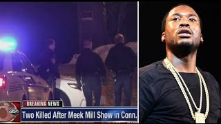 2 Dead and 2 Wounded outside of Meek Mill