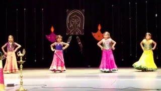 GITA Diwali 2015 - Telugu Medley dance performance by Anjali,Mansi,Sanvi & Megha