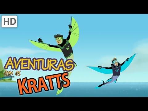 Aventuras com os Kratts HD Português Insetos Ou Macacos Parte 1