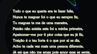 Diana Lima - Confiei em ti (letra)