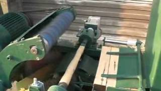 automatic wooden hammer handle machine