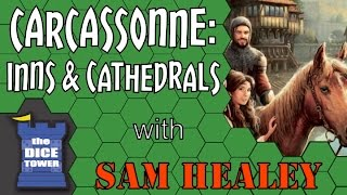 Carcassonne: Inns and Cathedrals - with Sam Healey