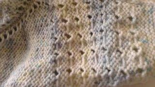 اسهل طريقة لخياطة التريكو بواسطة ابرة الكروشيه