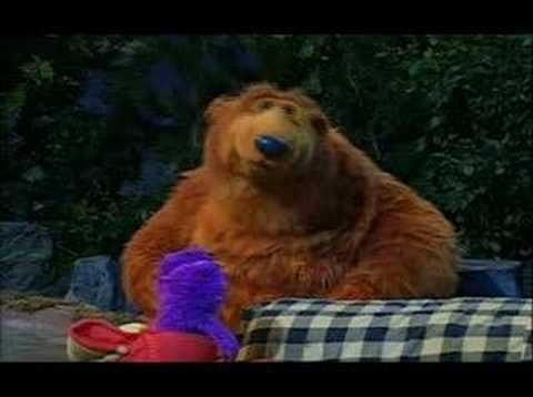 el oso de la casa azul