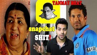 Tanmay Bhat Snapchat Video Roast | Sachin Tendulkar and lata Mangeshkar - Rj Rahul Sharma