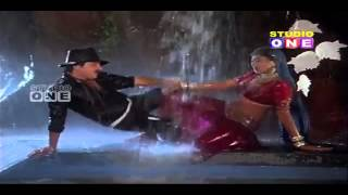 Actress Aamani Hot Navel Masala rain wet saree song