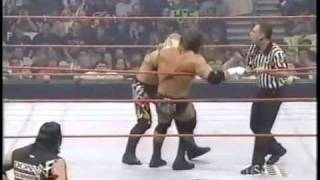 Chris Jericho Beats HHH For The WWF Title!