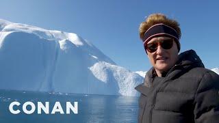 #ConanGreenland Preview: Conan Visits Greenland's Icebergs - CONAN on TBS