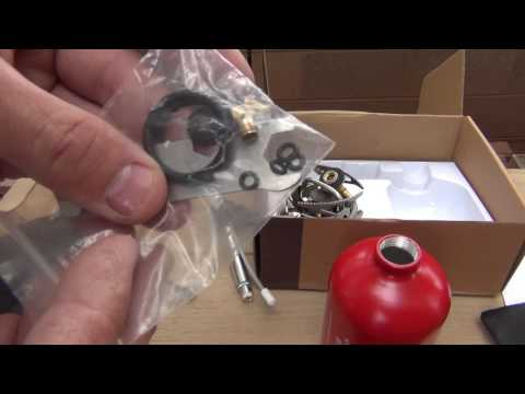APG multi fuel stove - unboxing (part 1 of 3)