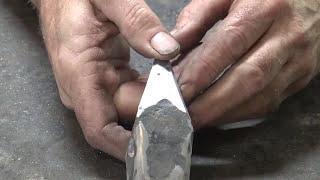 Forging a cross peen hammer part 2