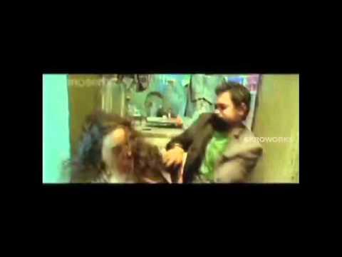 Nithya Menon boob press