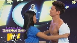 PBB cuties let fans touch their bodies