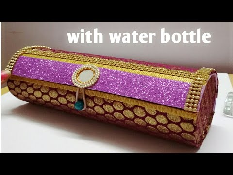Xxx Mp4 Bangle Box Making With Waste Water Bottle At Home How To Make Bangle Storage Box Best Out Of Waste 3gp Sex