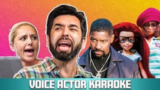 Voice Actor Karaoke | Training Day