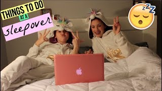 Things to do at a Sleepover!!! ||2018|| Brooke Elaine