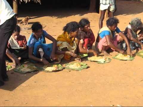Food Relief in Pandirivalasa village, Andhra Pradesh