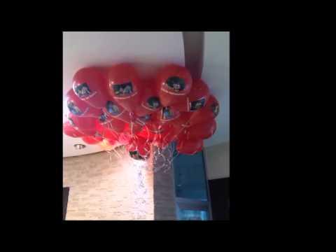 uçan balon doğum günü