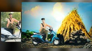 PICSART SWAPPY PAWAR EDITING| heavy edit|| picsart Photo Manipulation || picsart poster design