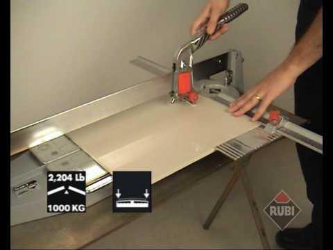 RUBI TI T Cortadora Profesional de cerámica porcelánico Professional Tile Cutter