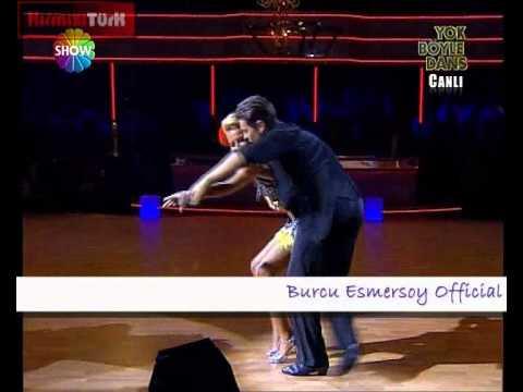 Yok Böyle Dans 3. Hafta Burcu Esmersoy facebook BurcuEsmersoyFanPage