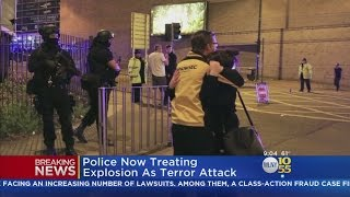 Explosion Rocks Crowd At Ariana Grande Concert In England