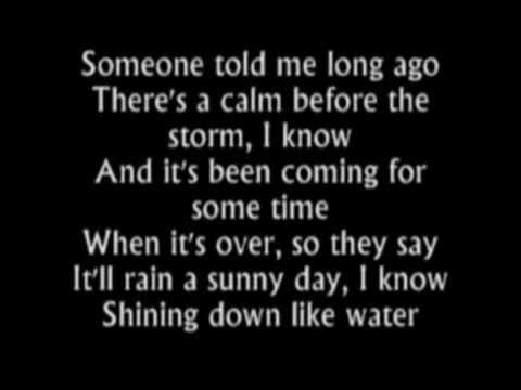 Have You Ever Seen the Rain-Rod Stewart (lyrics)
