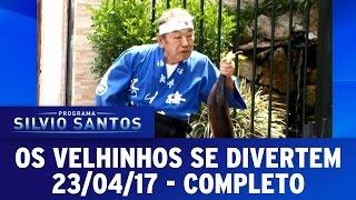 Os Velhinhos Se Divertem | Programa Silvio Santos (23/04/17)