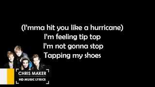 The Vamps Hurricane Lyric