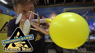 Science Max   ROCKET CAR   Kids Science   Experiments