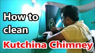How to clean  Auto Clean Kitchen Chimney at Home