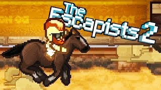 HORSE THIEF and HOOKED on YOU Escapes! - The Escapists 2 Gameplay