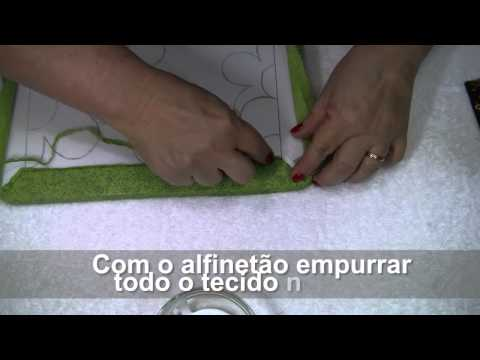 TUTORIAL PATCHWORK EMBUTIDO PORTA CHAVES