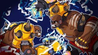 DOOMFIST 1V1 VS Smii7y! No Cooldowns! Overwatch Funny Moments