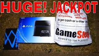 HUGE!!! DUMPSTER JACKPOT!! Gamestop Dumpster Dive Night #381